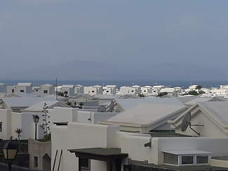 View From Upstairs Terrace to Fuerterventura