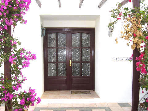 Entrance to Villa Antonio