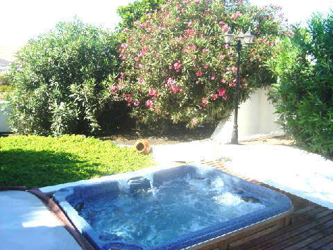 Mature Gardens to rear of Hot Tub