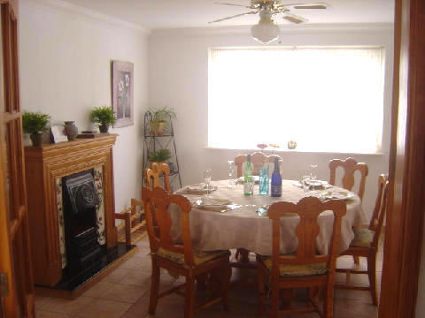 Internal Dining Area