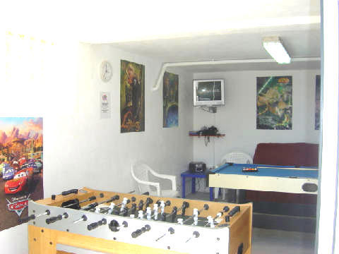 Games Room - Table Football, Darts, Pool Table, PS2, TV & DVD