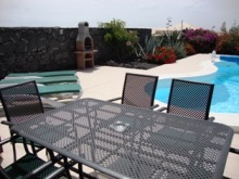 Comfortable Patio Furniture besides the Pool - Ideal for AlFresco Dining