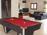 Games Area with UK Poool Table