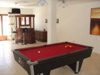 View across Pool Table towards Bar