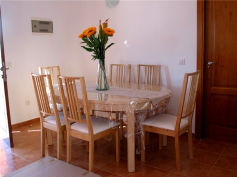 Dining Table and Chairs in Lounge