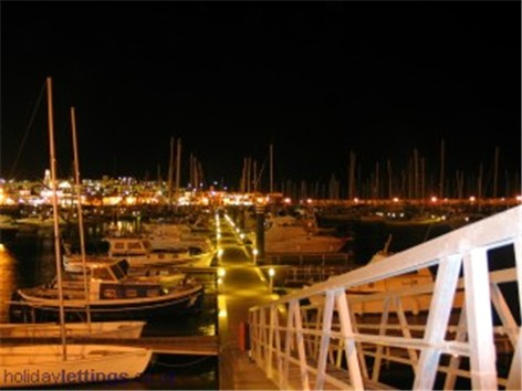 The Marina at Night