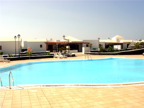 View across Communal Pool towards Villa De Moda
