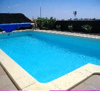 Private Electrically Heated Pool 8m x 4m
