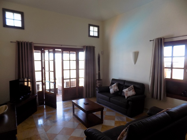 Comfortable Furniture in Retreat Area - Views to Fuerterventura on clear day