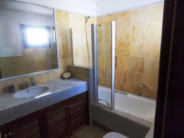 One of two further bathrooms