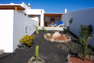 Canarian Gardens at rear of Villa
