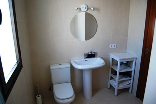 One of the Two Bathroom