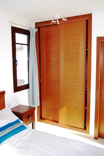 Wardrobes in Master Bedroom
