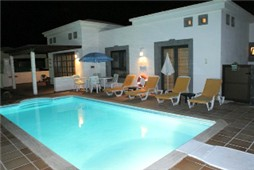 Patio Furniture / Sun Beds around Pool