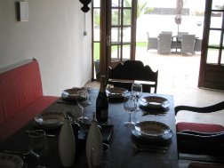 Another view of Internal Dining Area