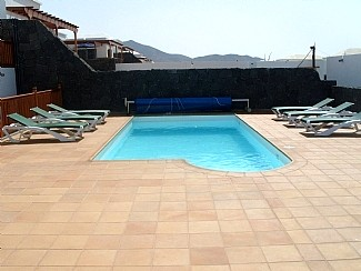 Private 8m x 4m Heated Pool