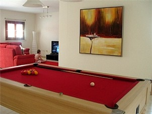 View across Pool Table towards Lounge