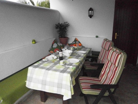 Another view of Al-Fresco Dining Area