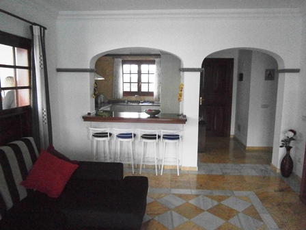 View of the Lounge towards Breakfast bar / Kitchen