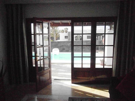 Lounge doors to Terrace area