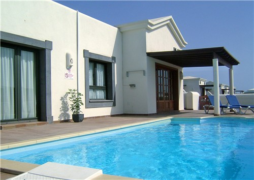 View of Villa / Private Heated Pool