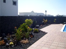 Mature Canarian Gardens to side of Pool/Terrace