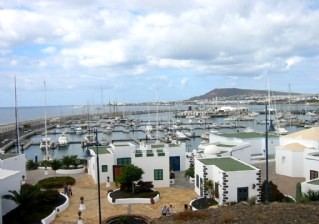 View across the Marina, Playa Blanca