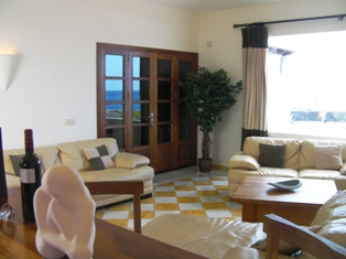 View across lounge
