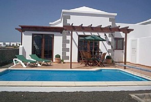 External View of Villa with Private Heated Pool