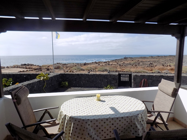 View towards Sea from Garden Al-Fresco Room