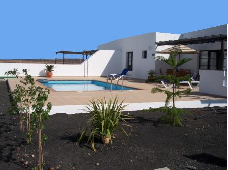 View across Garden to Pool/Terrace