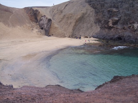 View of Papagayo Beach