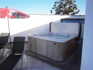 Hot Tub - Rear of Terrace