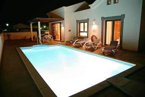 The Pool / Villa at Night