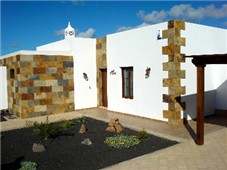 Front view of Casa Tranquila